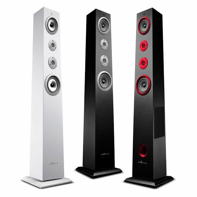 Energy Tower System TS5 - Une #enceinte colonne #Bluetooth ouverte à différents médias