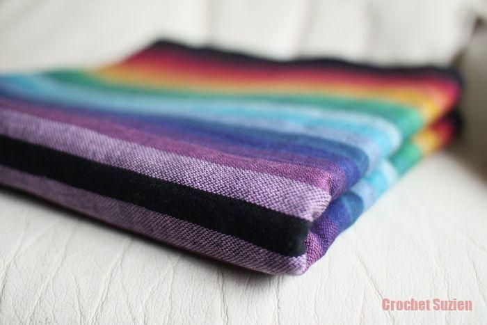 Original Gothic Rainbow – Black Weft Crochets