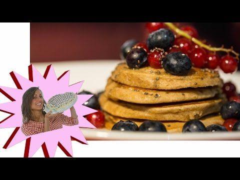 Pancakes Vegani Senza Uova - Vegan Pancakes - YouTube