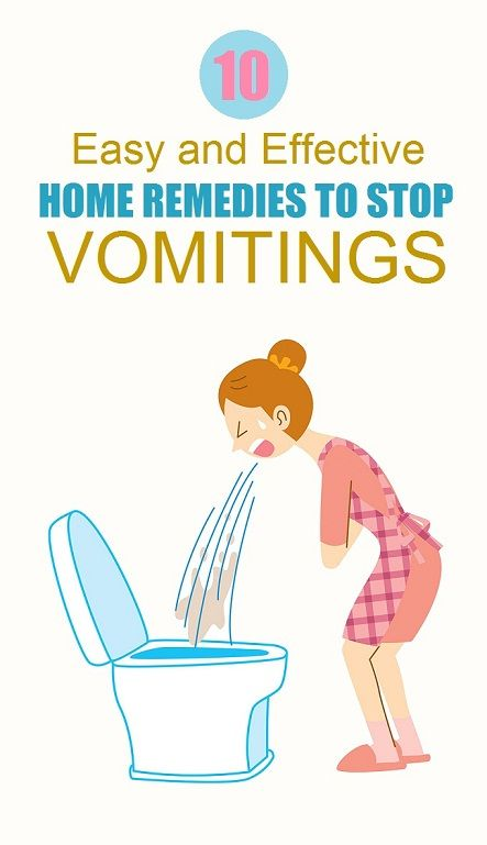 10 Easy and Effective Home Remedies To Stop Vomiting