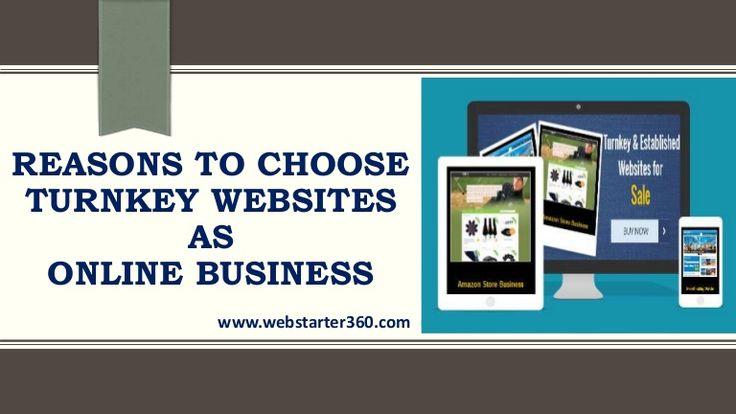 Reasons to Choose Turnkey Websites As Online business  #OnlineTurnkeyBusinessWebsites #StartOnlineBusiness  #ReadytoSetupwebsite