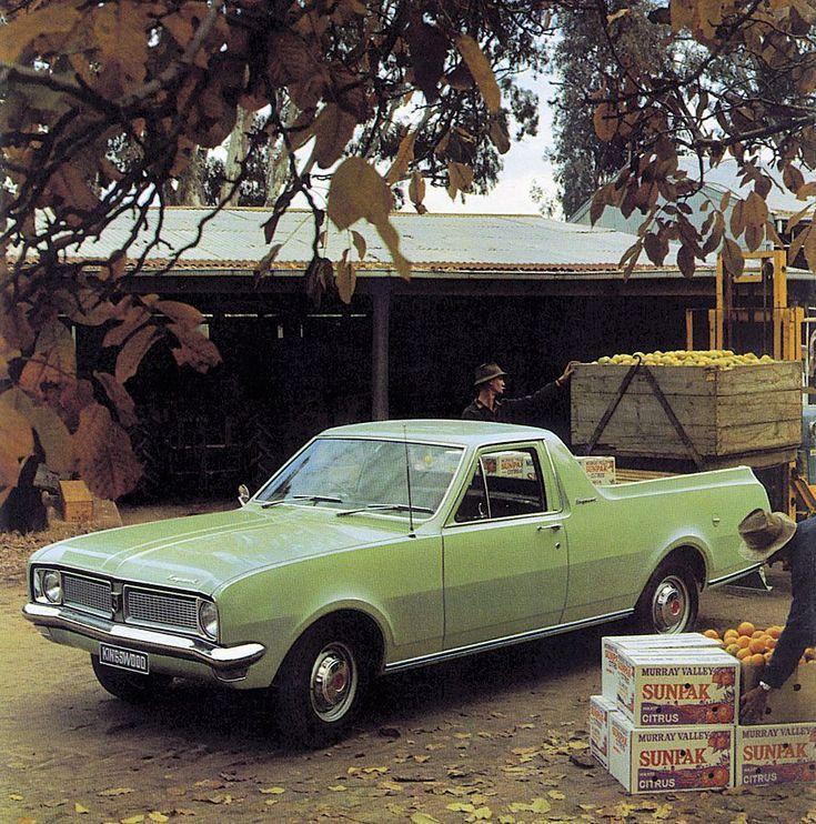 Classic Holden Utes: Holden HG Ute
