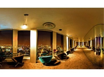 Vertigo 42... Champagne with beautiful 360 view of London!