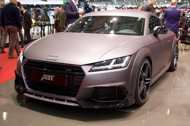 Автоблог›Женева 2015›2015 Audi TT Coupe Gunmetal от ателье ABT Sportline