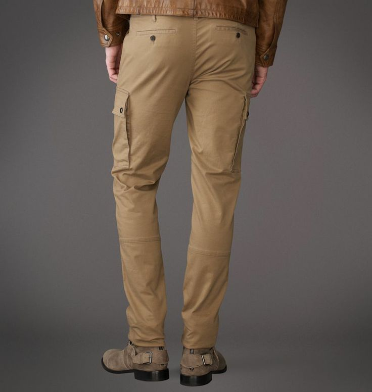 Belstaff | Mens Stretch Twill Milport Trouser | Mens Designer Trousers, Denim & Jeans