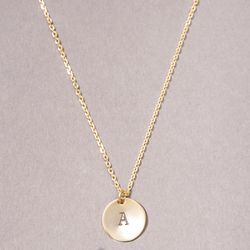 <3 Want: Simple Gold Necklace