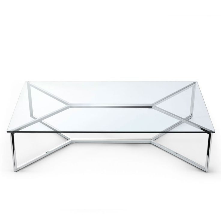 Carlomagno 1 Glass And Metal Coffee Table By Gallotti U0026 Radice   Klarity