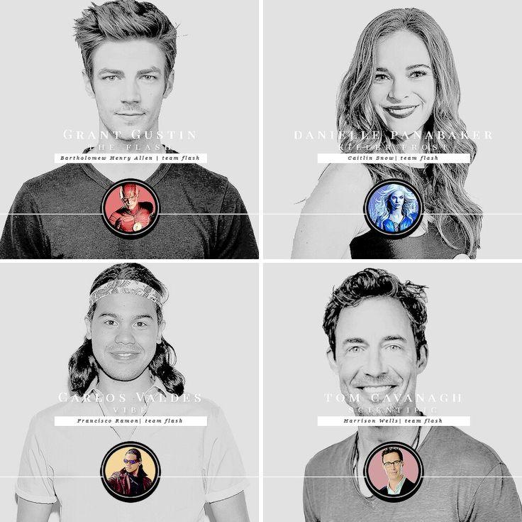 Team Flash ~ Barry Allen ~ Caitlin Snow ~ Cisco Ramon ~ Harrison Wells