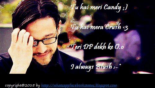 Crush Funny Hindi Status for Whatsapp Facebook | Whatsapp Facebook Status Quotes