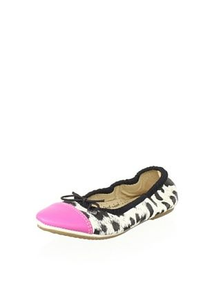 62% OFF Old Soles Kid's Kruger Flat (Spot/Fuchsia Leather)