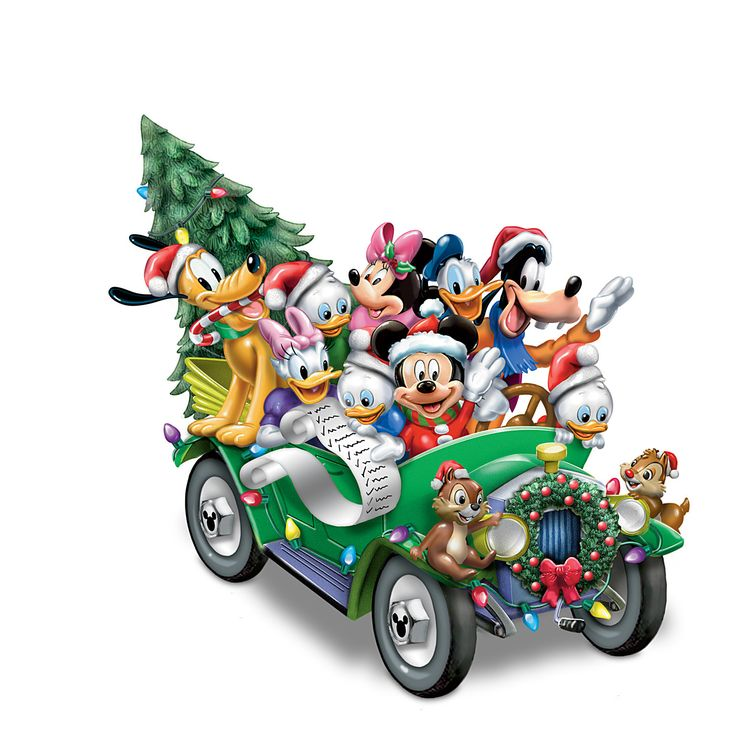 Disney Once Upon A Holiday Musical Light Up Sculpture: