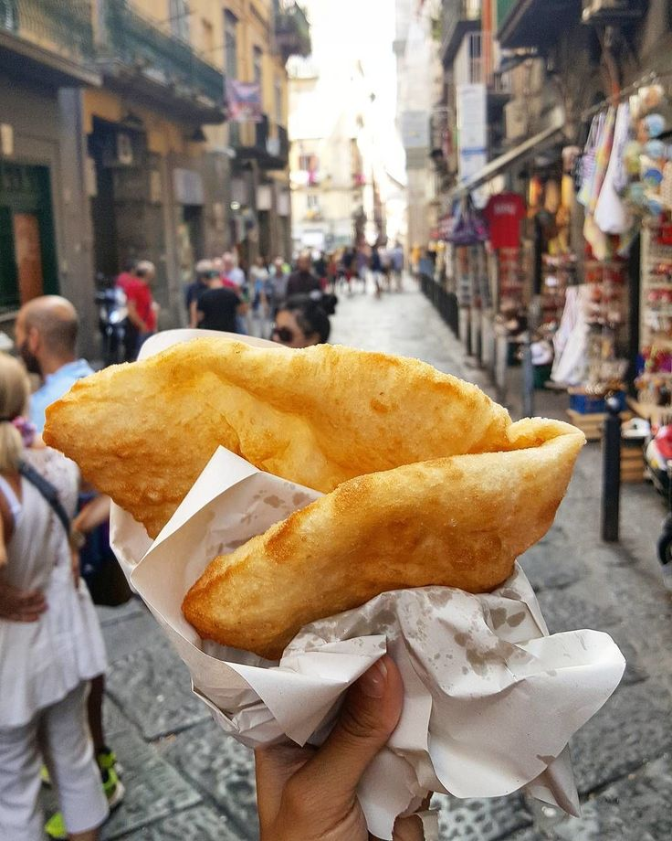 Naples isn't only known for traditional pizza but also