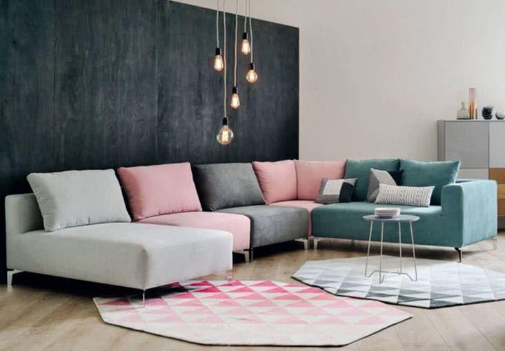Canape Modulable Selection De 30 Modeles Styles Pour Votre Salon Canape Modulable Decoration Maison Salle De Sejour