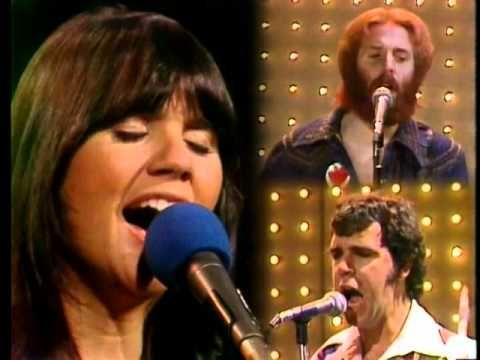 Linda Ronstadt with RIP Andrew Gold & Kenny Edwards - When Will I Be Loved, Midnight Special, 1975