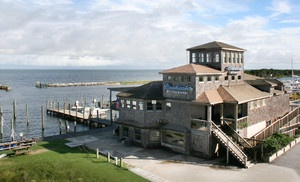 Groupon - One-Night Stay at The Breakwater Inn in Hatteras, NC in Hatteras, NC. Groupon deal price: $47.00
