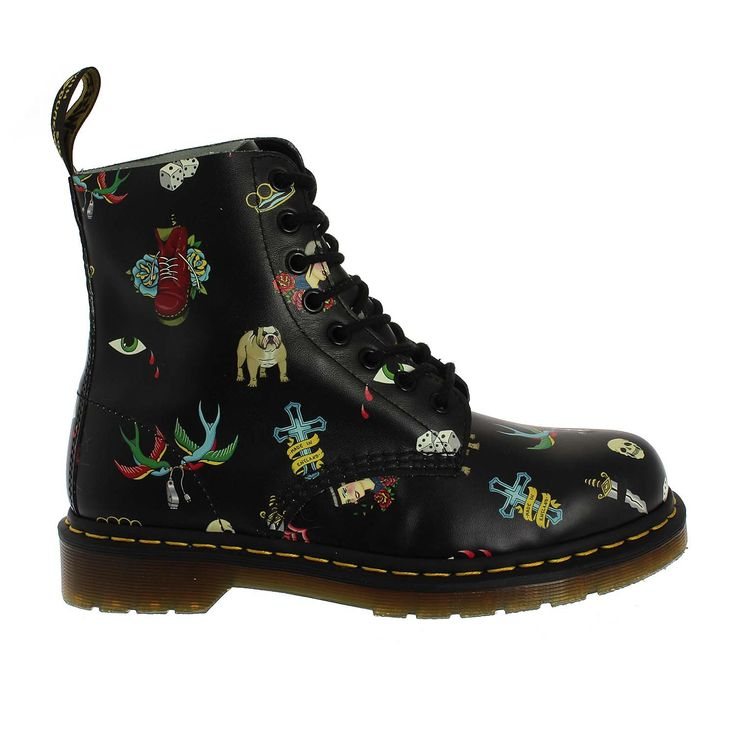 Dr.Martens Pascal Tattoo (1613BLACK)