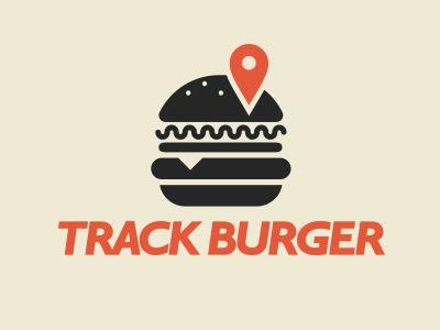 Track Burgers- ¿Sistema localizador de hamburguesas? #logo #burger