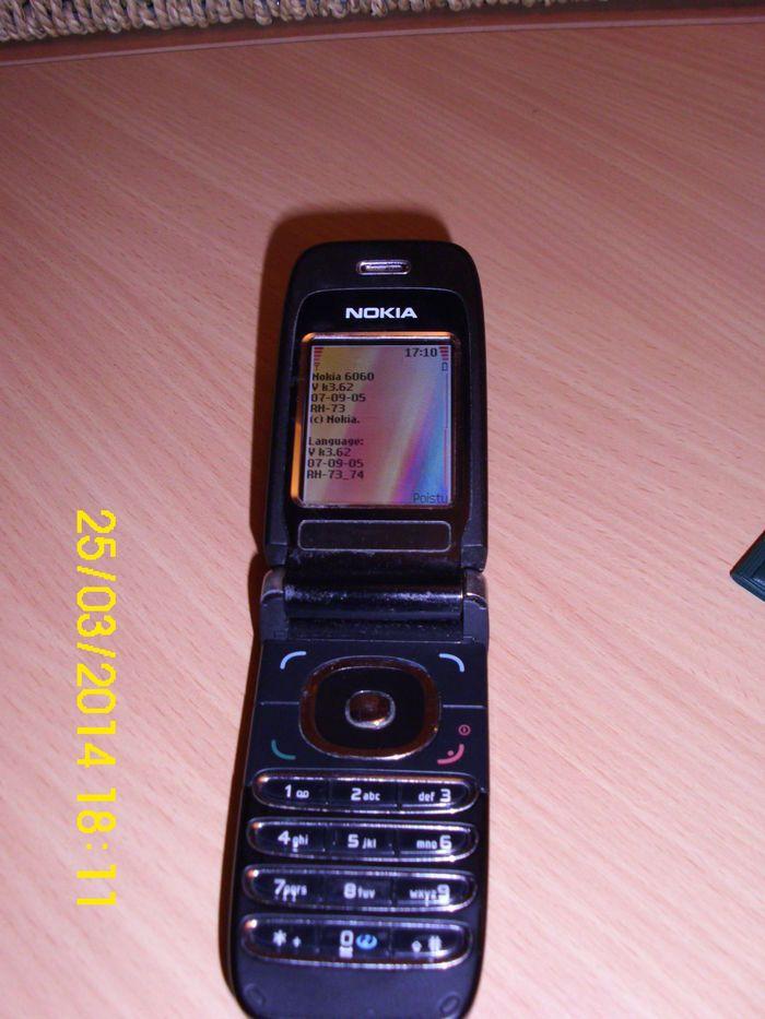 Onko sinulla Suomen vanhin edelleen toimiva kodinkone?   Kuningaskuluttaja   yle.fi  Nokian 6060 puhelin vuodelta 2005 on kestänyt tyynet ja myrskyt ja toimii edelleen.  Lähettäjä: Anne, Hämeenkoski