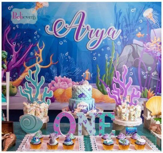 Bubbling Under The Sea Birthday With Images Sea Birthday