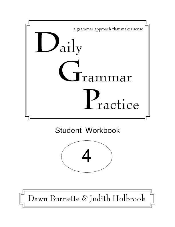 Daily Grammar Practice Grade 4 Student Workbook