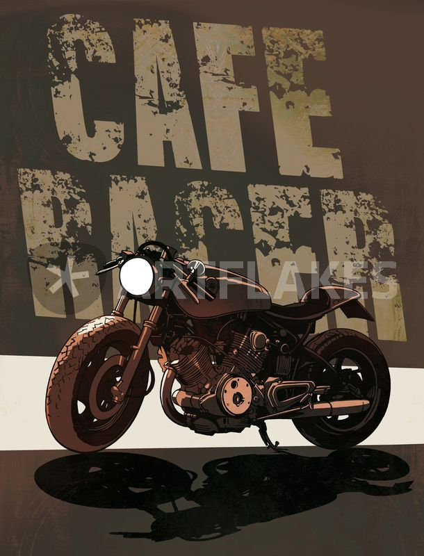 Cafe Racer Blason