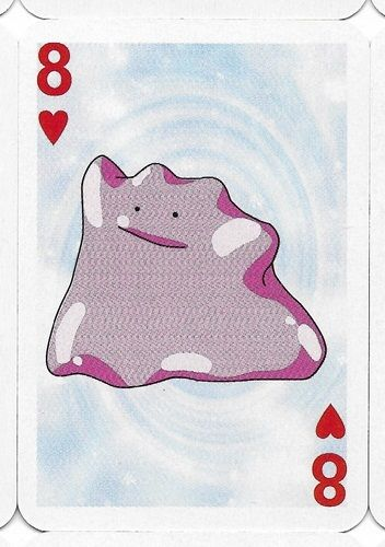 Pokemon Ditto Mini Playing Card