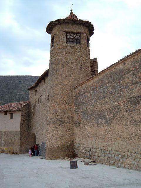 Castillo de Mirambel Teruel Spain.