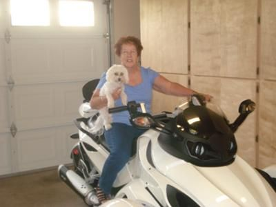 Me and Freddie: As a 66+ yr. old female, I needed a stable bike to ride w/confidence.  This bike handles much like a small car and gets me where Im goin in a hurry.