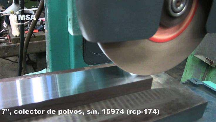 """Rectificadora Plana manual marca BOYAR SCHULTZ Modelo: 612 País de Procedencia: E.U.A Capacidad: 6"""" x 12"""" Piedra: 7"""" Colector de Polvo Nuestro numero de inve..."""