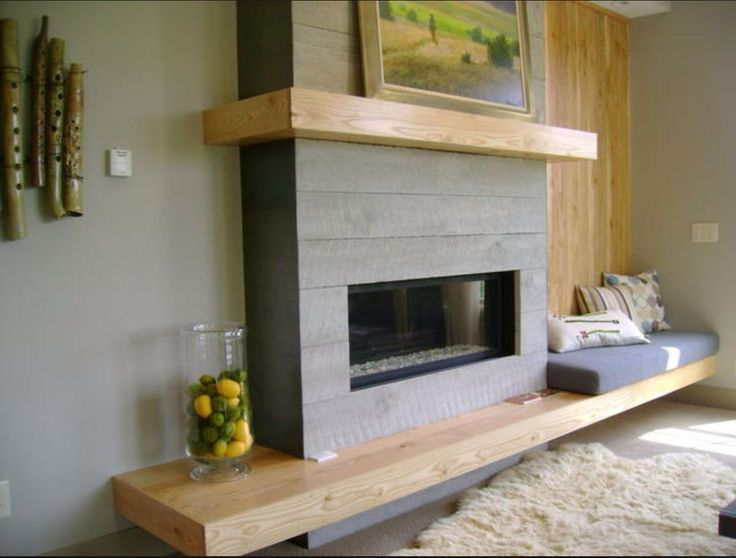 Image result for mid century modern fireplace renovations