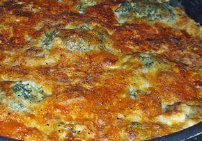 Μπρόκολο με τυριά στο φούρνο