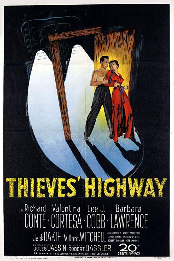 Thieves Highway 1949 Richard Conte Dvd Film Noir Richard