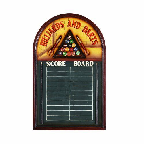 RAM Gameroom Products Pub Sign with Scoreboard, Billiards And Darts - Score Board by RAM Gameroom. RAM Gameroom Products Pub Sign with Scoreboard, Billiards And Darts - Score Board.