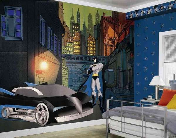 Decorazioni pareti, Batman - Il vostro bambino ama i fumetti di Batman? ecco una decorazione perfetta per lui