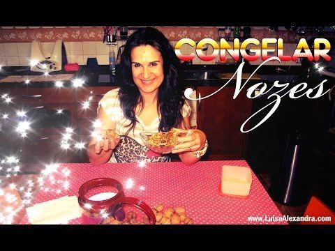 Congelar Nozes • www.luisaalexandra.com