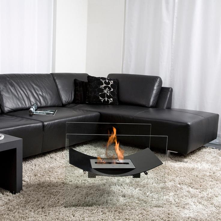 The Veniz floor model fireplace