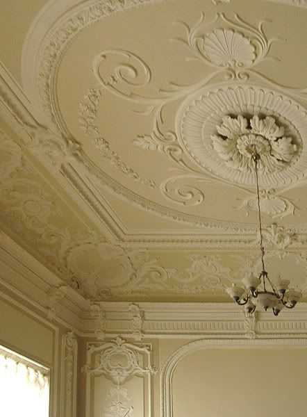 stucco ceiling (P.)