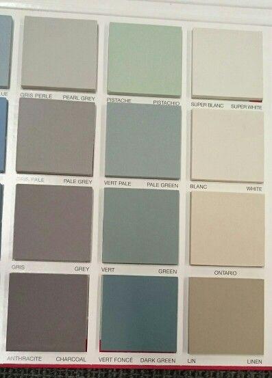 Winckelmans grey, green and white tiles