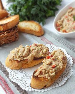 Süssünk, főzzünk valamit!: Sült paprikás tonhalkrém