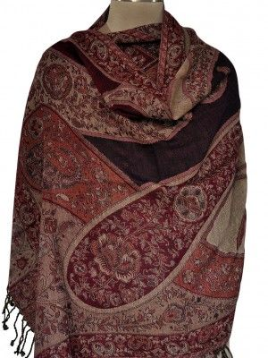 We offer beautiful traditional kashmir design shawls such as paisley shawls, floral shawls and many more at affordable prices. You can get all the floral and paisley design, rich patterns, in vibrant and subtle colors in this shawls.