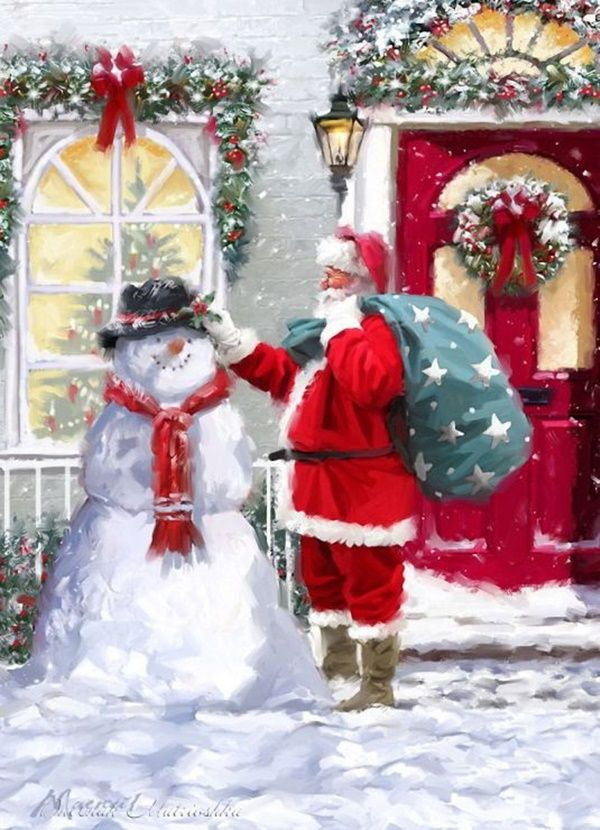 108 Best Christmas Santa Claus Images On Pinterest