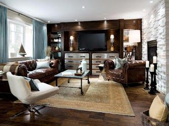 Leather sofa, carpet, stainless steel drawers