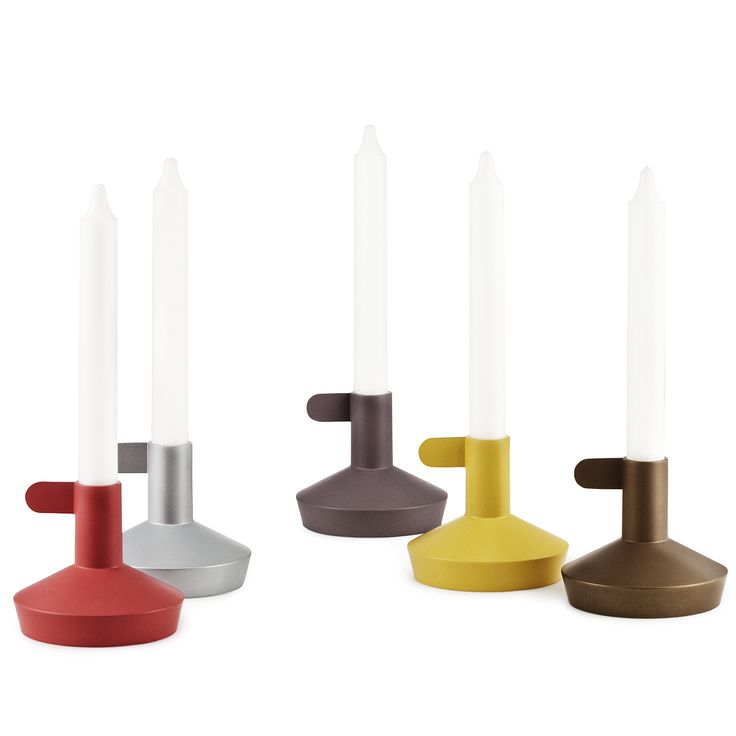 Flag Group Candle Holders