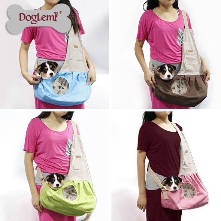 Onfine Pet Dog Cat Puppy Carrier Mesh Travel Tote Shoulder Portable Bag Dog Backpack Free Shipping&Wholesales