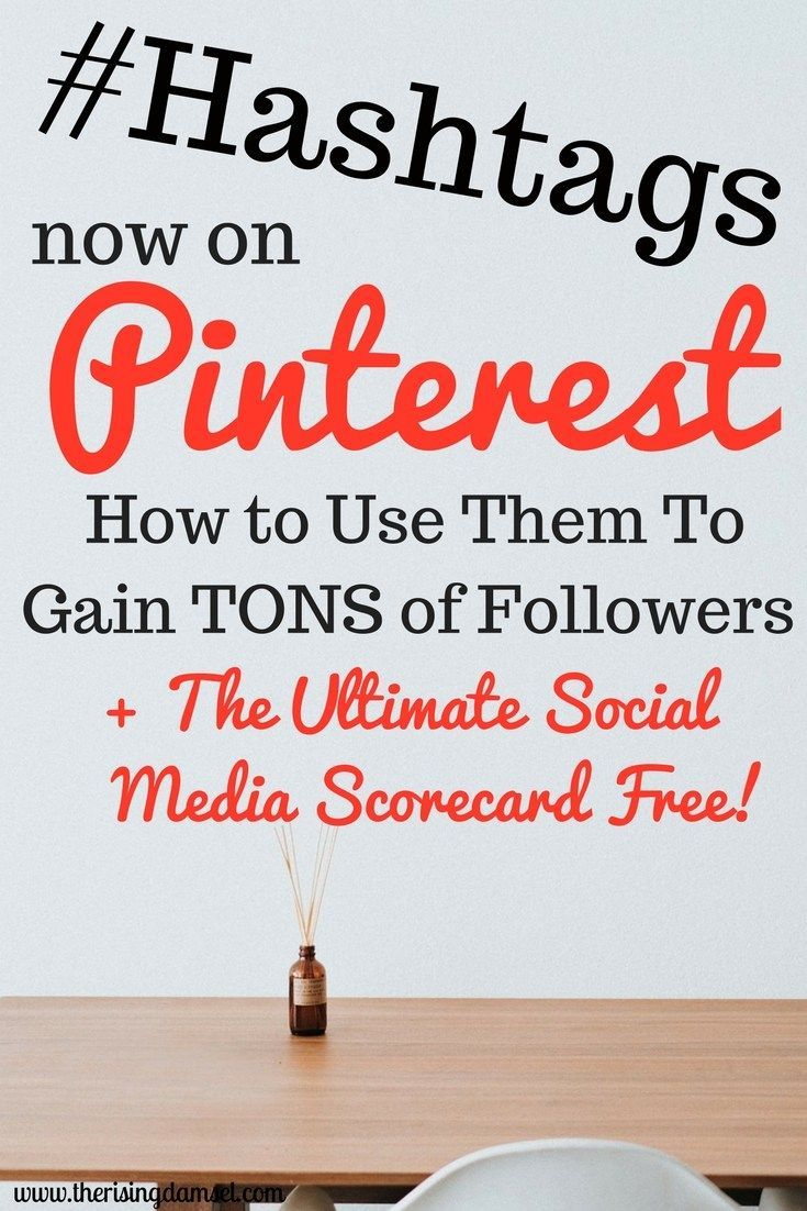 Hashtags are now on Pinterest