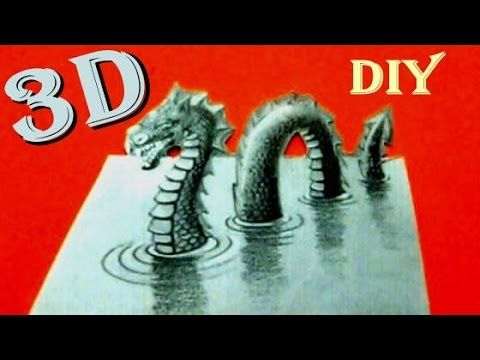 How to Draw in 3D Optical Illusion Monster on paper drawing by Funny Toyo Surprise. Don't forget to like, share and subscribe for more videos every day Thank...