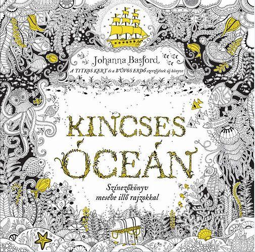 Johanna Basford: Kincses Óceán | bookline