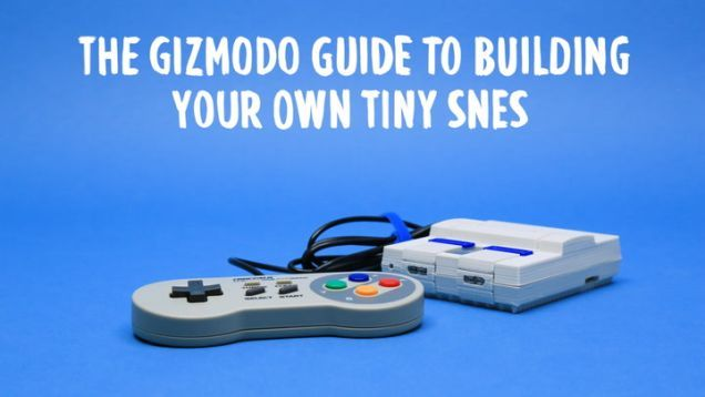 The NES Classic Edition is almost perfect—short controller cords not withstanding—and if you can buy one, it's one of our favorite gifts, especially if you don't want to leave the house. But it only plays NES games, and 30 games at that. Plenty of people—us included—would love a tiny system to play our favorite Super Nintendo games. Or Genesis games.