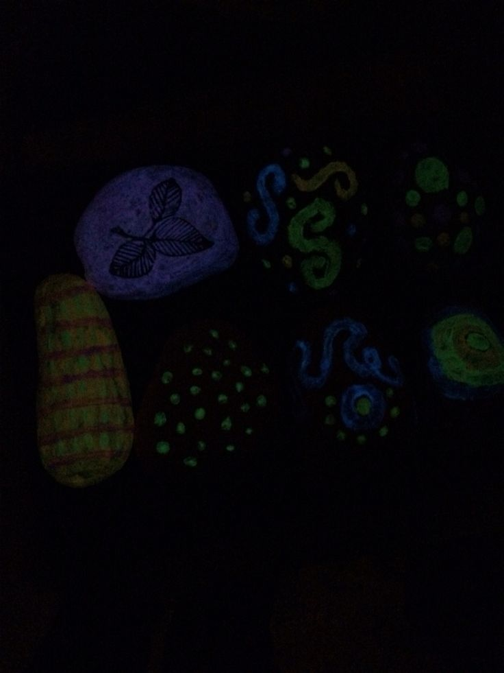 Glow In The Dark Stones Things I Make Pinterest Glow