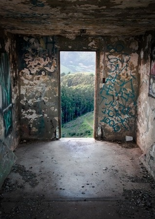 Portal by Chris Smart  Such a magnificent view, like passing into Narnia.